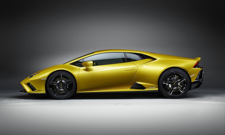 Lamborghini Huracán EVO RWD lateral