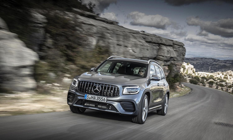 Mercedes-AMG GLB 35 4Matic dinámica