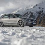 Mercedes Clase A nieve delantera