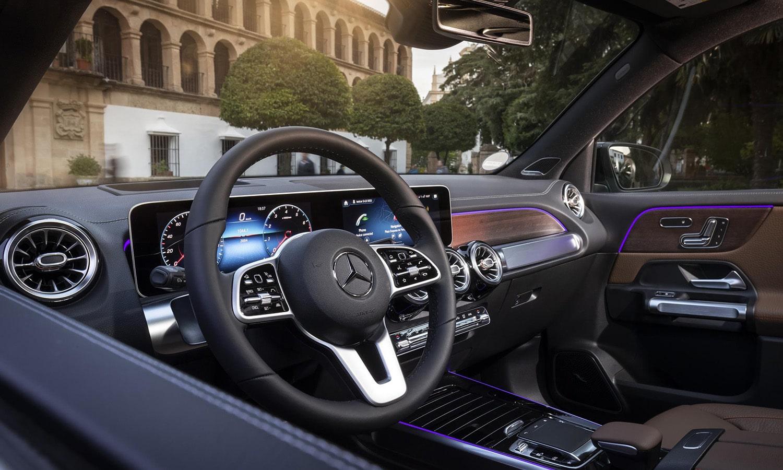 Interior del Mercedes GLB