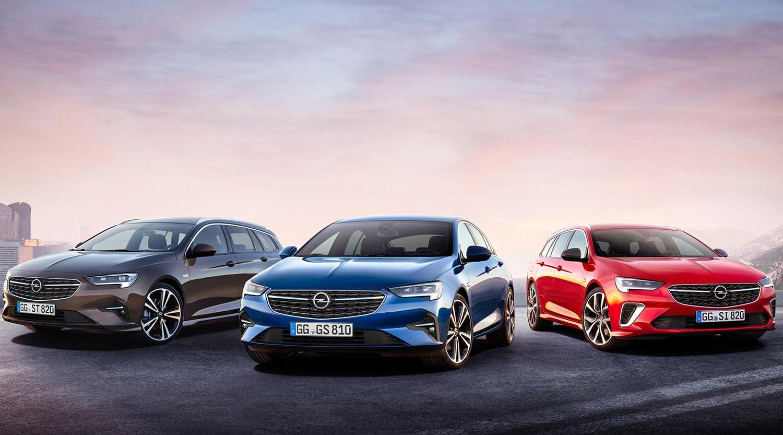 Gama Opel Insignia 2020