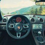 Interior del Porsche 718 Cayman GTS 4.0