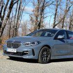 Perfil delantero del BMW Serie 1