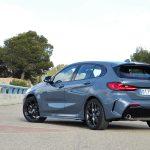 Prueba BMW Serie 1 M Sport perfil trasero