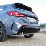 Prueba BMW Serie 1 parte trasera