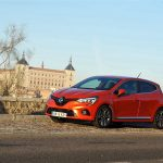 Test Renault Clio V perfil delantero