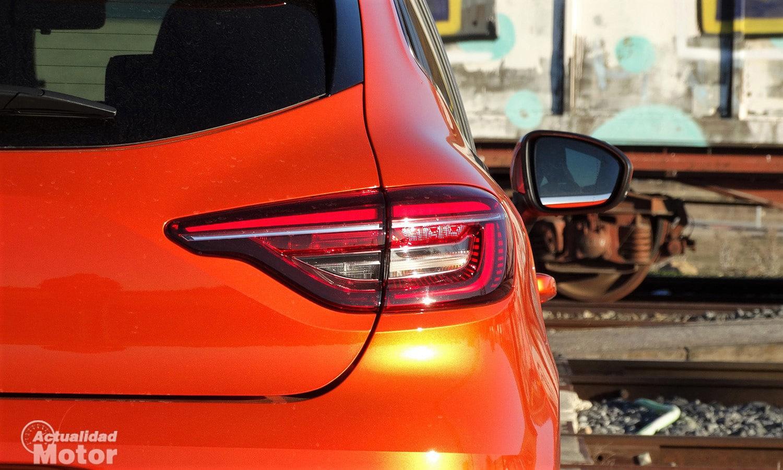 Renault Clio 2020 pilotos traseros