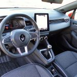 Interior del Renault Clio V