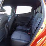 Espacio en las plazas traseras del Renault Clio V