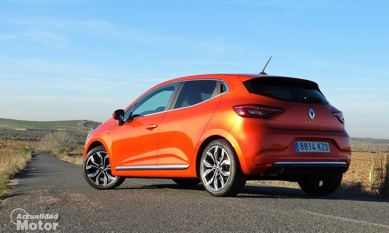 Prueba Renault Clio parte trasera