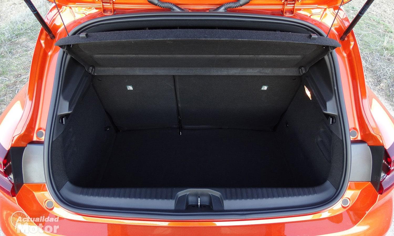 Maletero del Renault Clio 2020