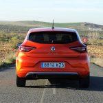 Parte trasera del Renault Clio V