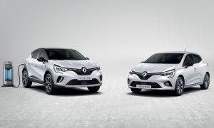 Renault Captur y Renault Clio híbridos