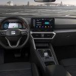 Interior del Seat León IV FR con cambio DSG