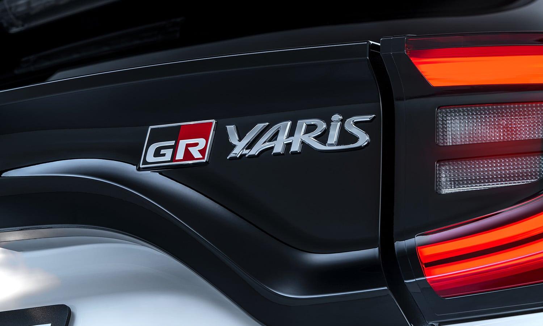 Toyota GR Yaris logo GR
