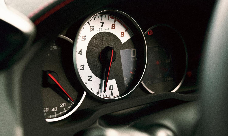 Cuadro de instrumentos deportivo del Toyota GT86