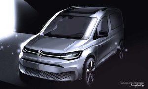 Teaser del Volkswagen Caddy