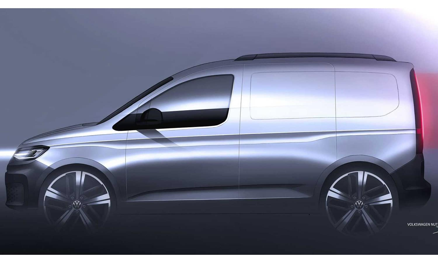 Teaser Volkswagen Caddy lateral