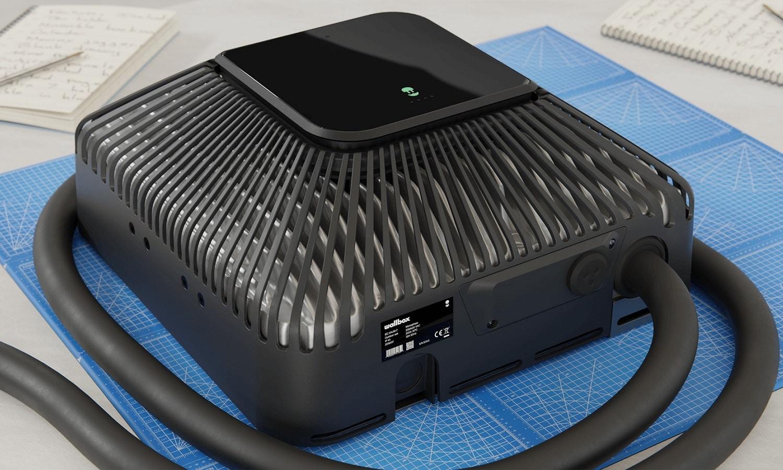 El cargador Quasar de Wallbox tiene un tamaño compacto y será más barato