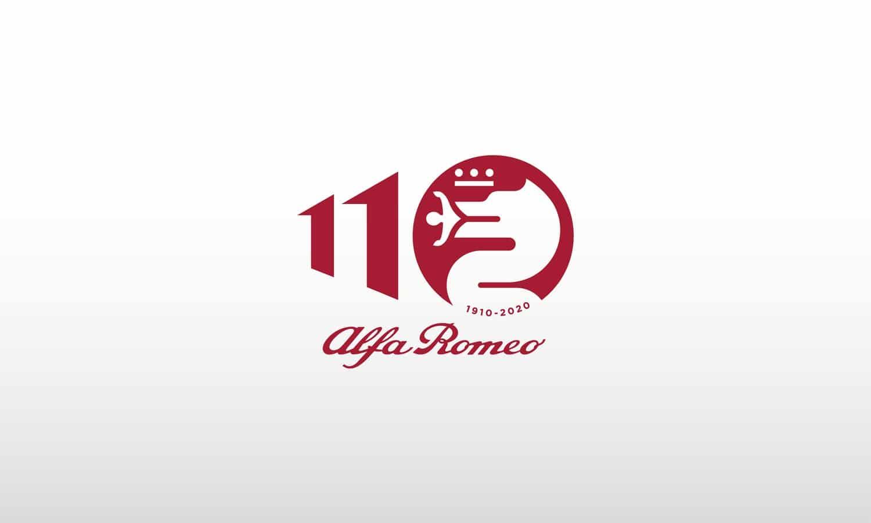 Alfa Romeo 110 Anniversary logo