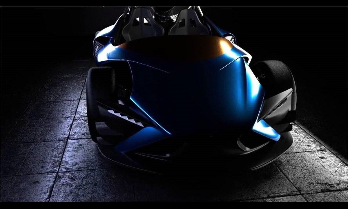 Bernat Electric Hypercar front teaser
