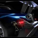 Bernat Electric Hypercar rear teaser