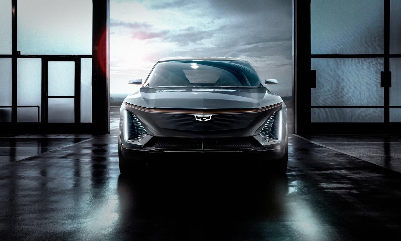 Cadillac EV front