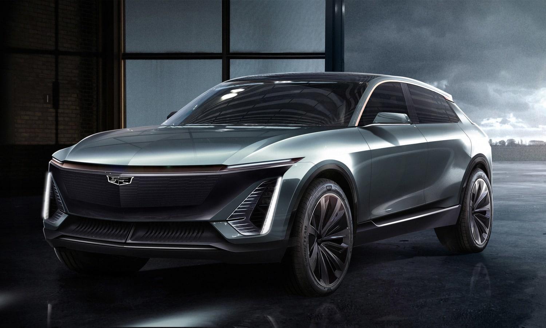 Cadillac EV side