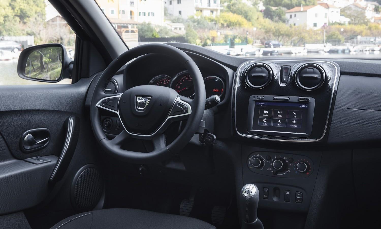 Dacia Sandero 2020 inside