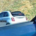 Fiat 500e C photo spy
