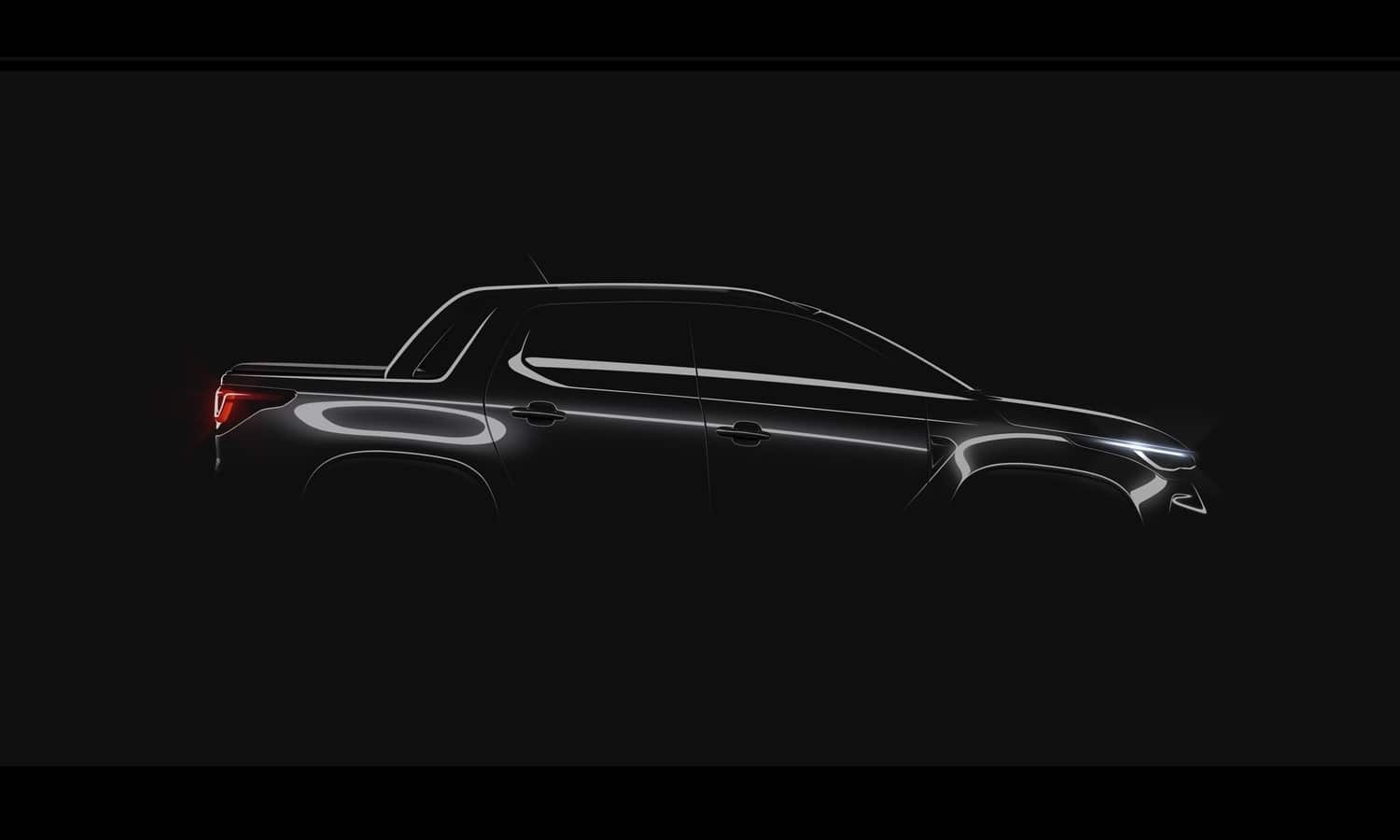 Fiat Strada new generation teaser