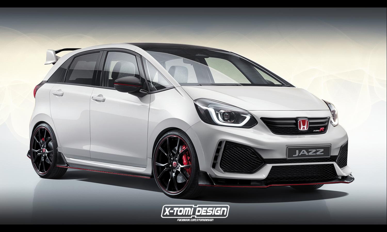 Honda Jazz Type R rendering by X-Tomi Design