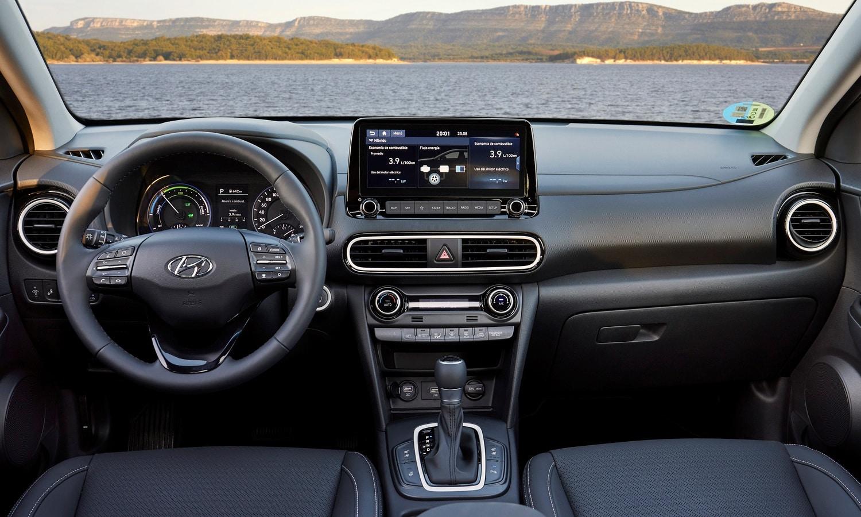 Hyundai Kona inside