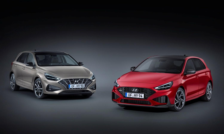 Hyundai i30 and Hyundai i30 N Line