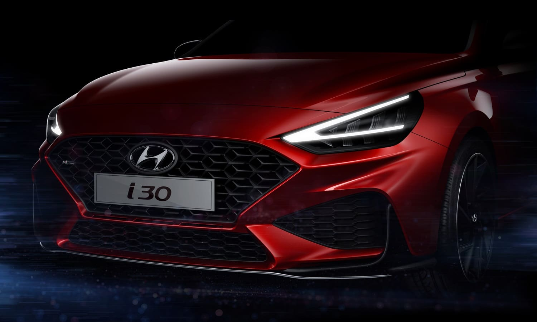Hyundai i30 restyling 2020 teaser
