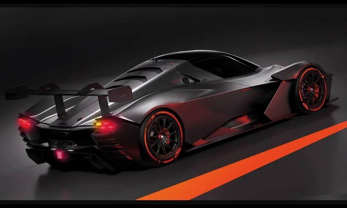 KTM X-Bow GTX GT2 2020 rear