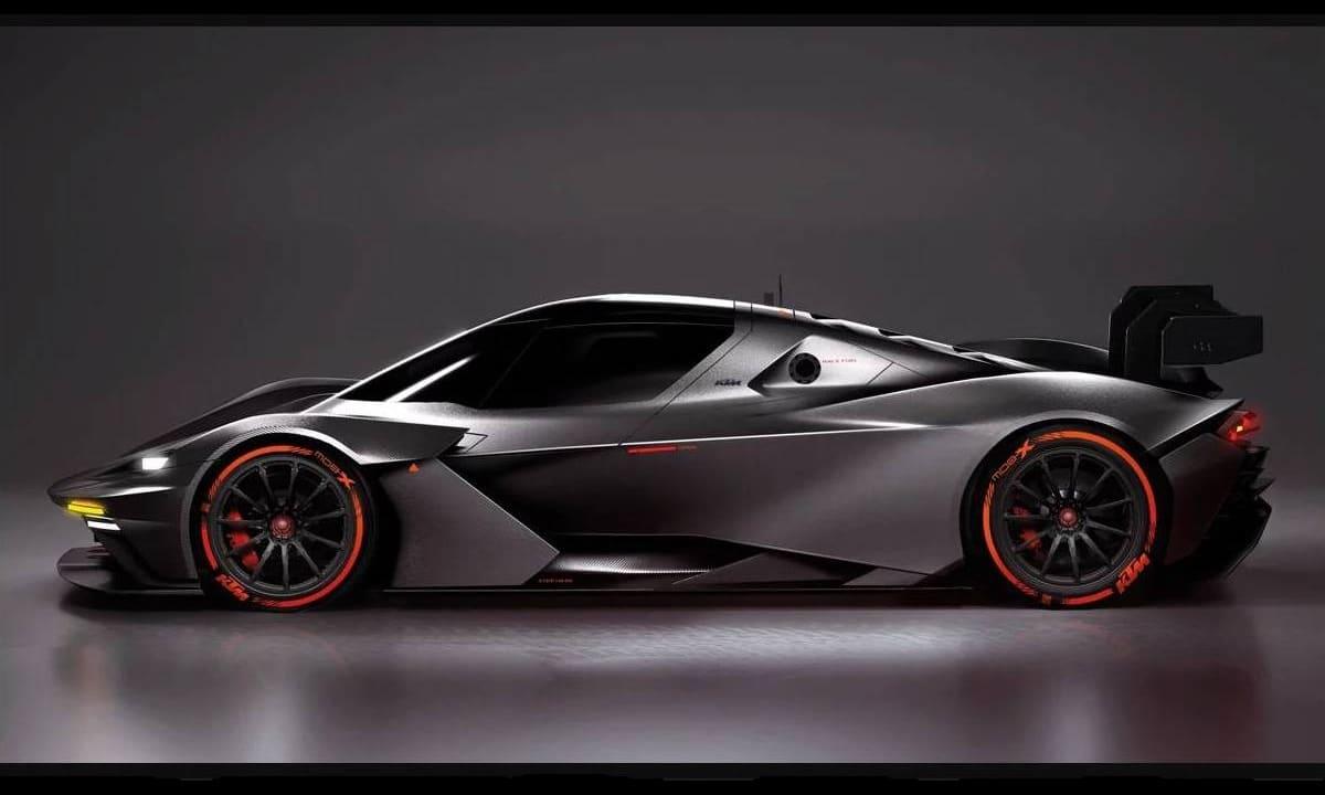 KTM X-Bow GTX GT2 2020 side