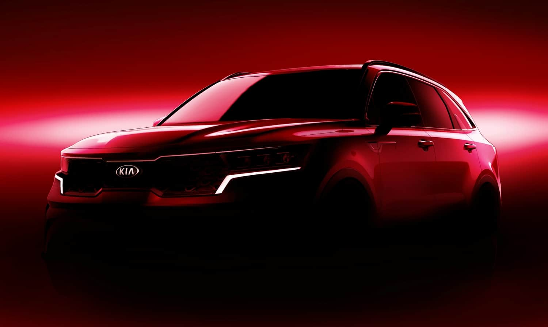 Kia Sorento 2020 Geneva International Motor Show front teaser