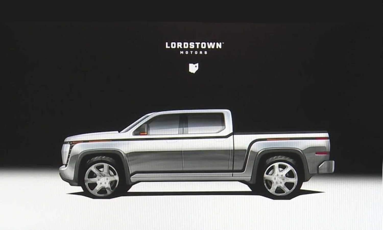 Lordstown Endurance EV Pick Up teaser side