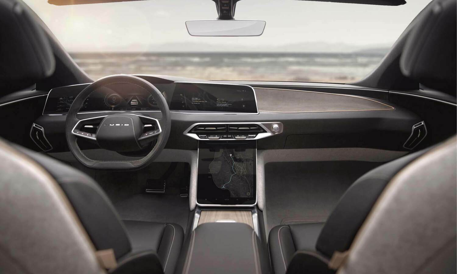 Lucid Air EV inside