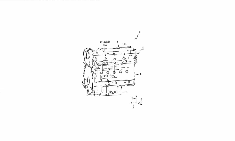 Mazda Motor Corporation patente motor 6 cilindros