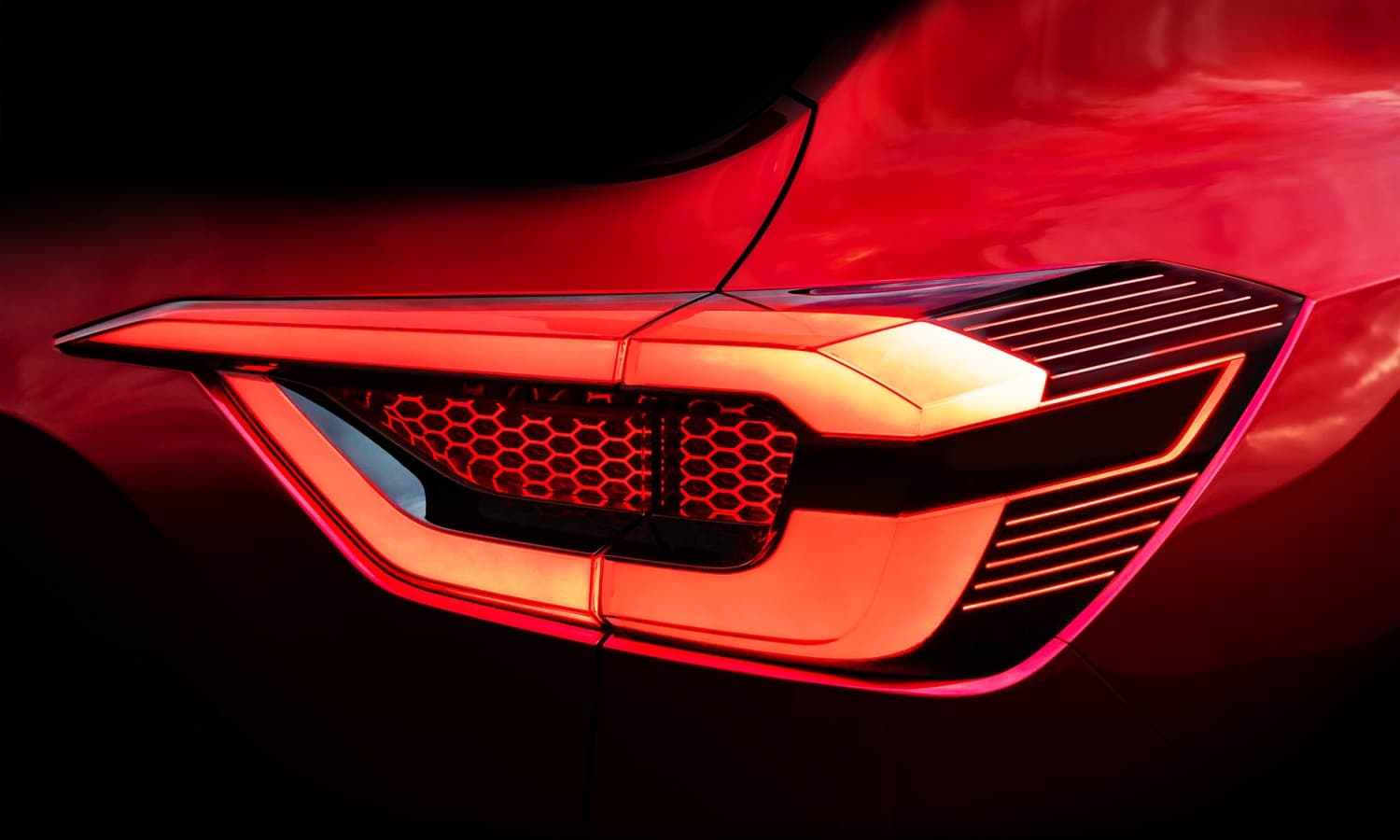 Nissan Kicks mini rear teaser