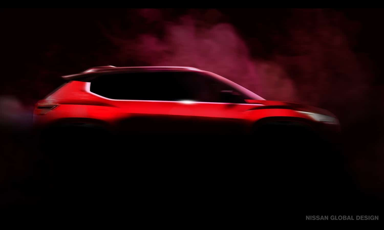 Nissan Kicks mini side teaser