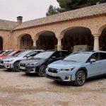 Prueba Subaru XV ecoHYBRID parking finca Montealegre