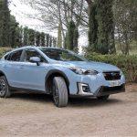 Prueba Subaru XV ecoHYBRID perfil derecho
