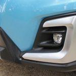 Detalle paragolpes frontal Subaru XV
