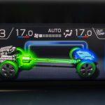 Subaru XV ecoHYBRID pantalla TFT sistema híbrido