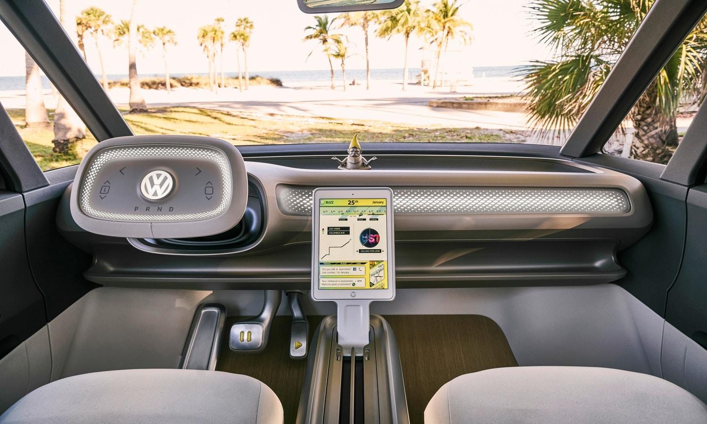 Volkswagen I.D. Buzz inside