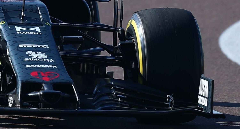 Alerón delantero Sauber C39 F1 2020