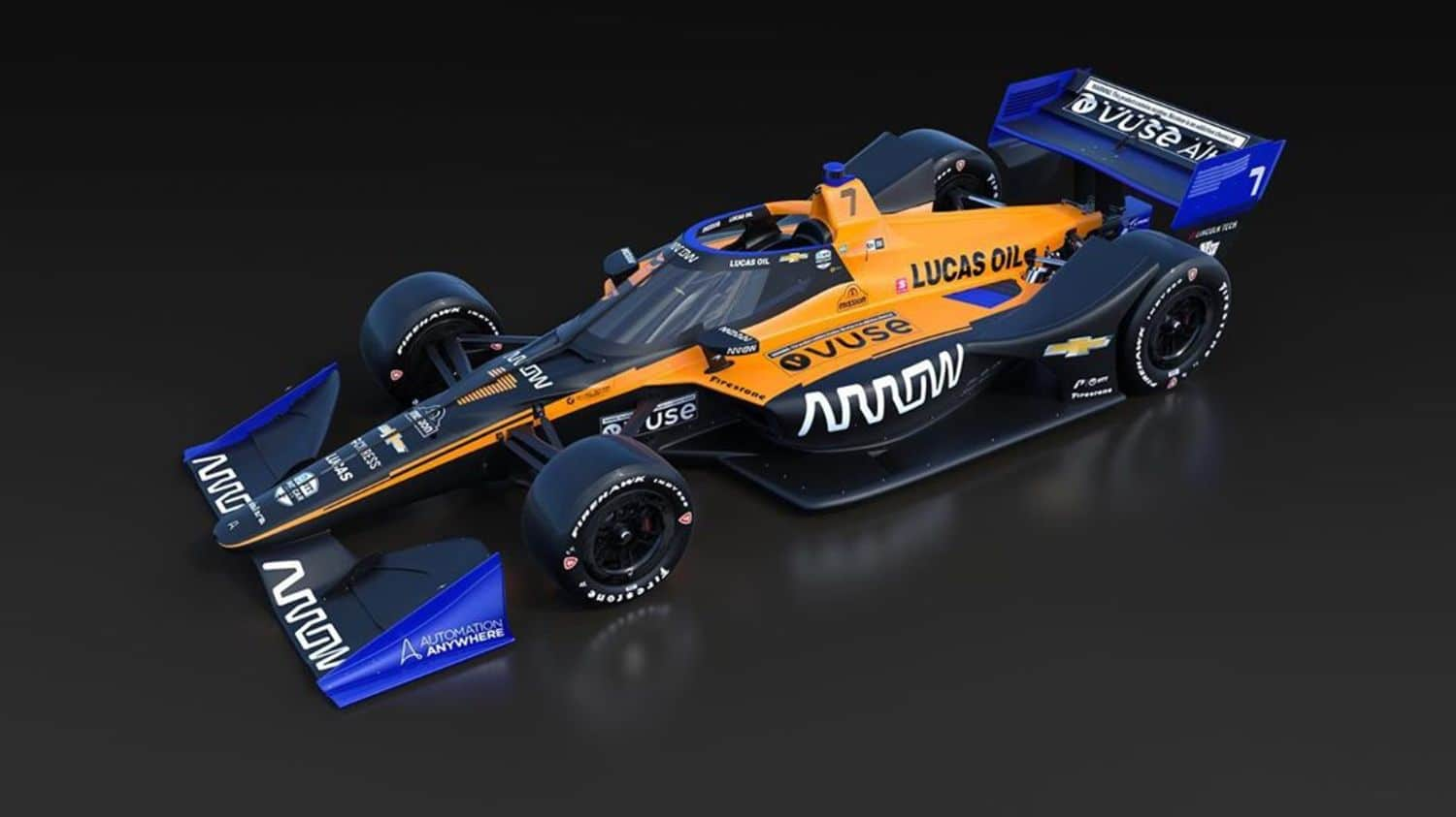 Arrow McLaren SP Indy 500 Fernando Alonso